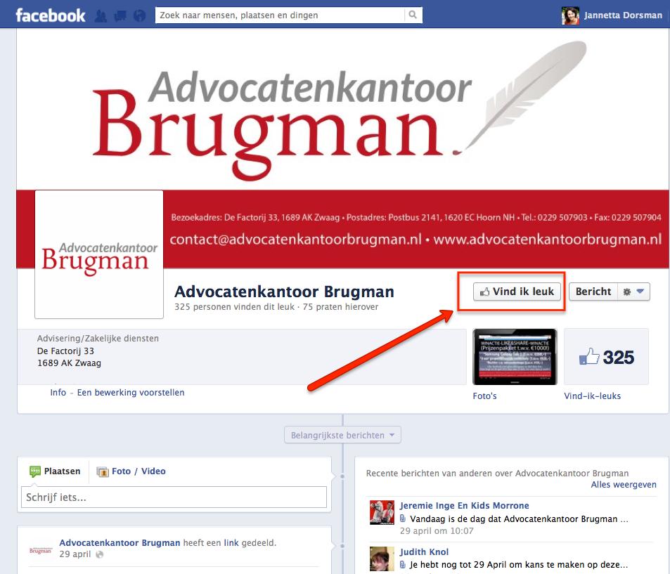 Vind ik leuk Brugman advocaten